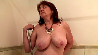 Wifes mom wants his hot cum