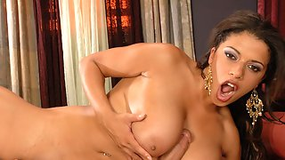 Alexis Silver In Tit-Fuck Tryouts