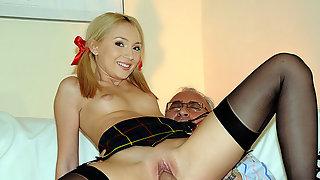 Nataly Von anal action