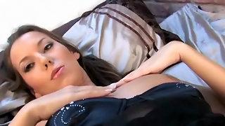 Teen with massive tits