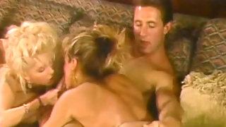 Blonde threesome