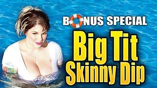 Big Tit Skinny Dip: Dors Feline