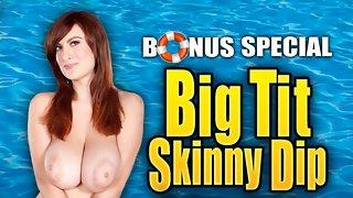 Big Tit Skinny Dip: Lana & Valory