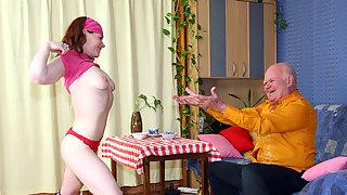 The seduced waitress