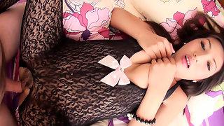 Anam: Crotchless Bodysuit Creampie
