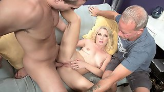 Cuckold to the ass-fucked wife