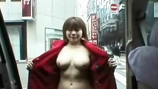 Showing herself in public