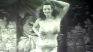Vintage exotic dancer