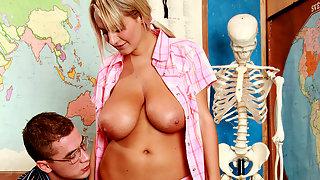 Horny teacher