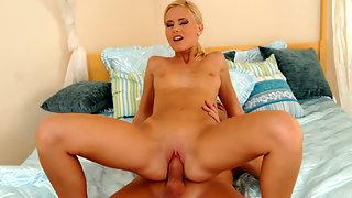 Platinum blonde Nubile Candice