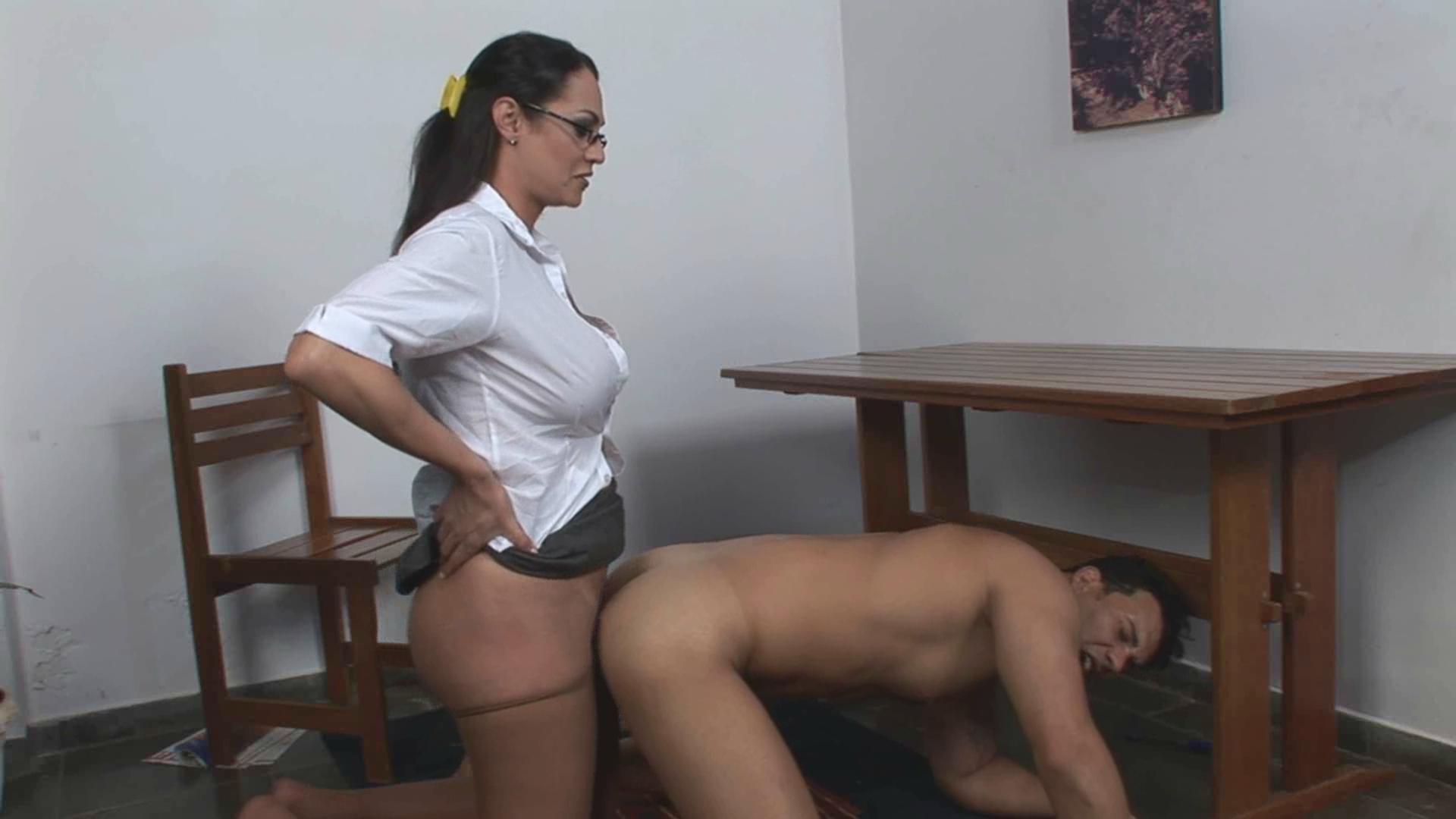 Как порно трансы в офисе