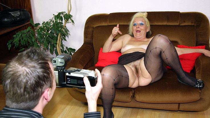 Gay Granny Extrem Massage